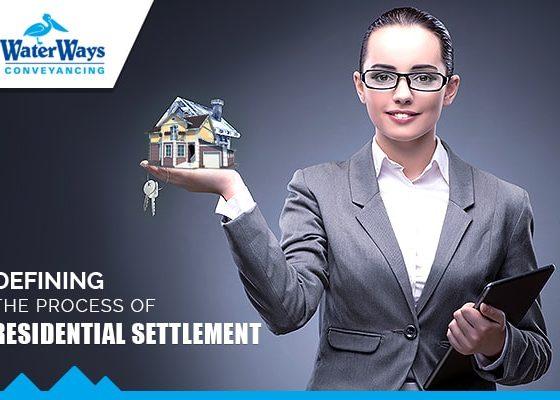 residential property settlements