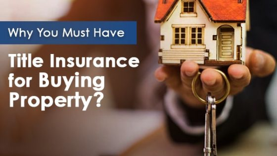 Title Insurance for Buying a Property